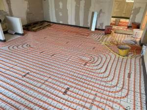 Installazione impianto termico a pavimento Breganze Vicenza