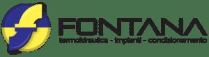 Logo fontana impianti termoidraulici breganze vicenza nero